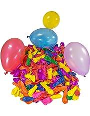 Belmalia 500x Ballon d'eau, Bombes à Eau, Coloré, Facile à remplir