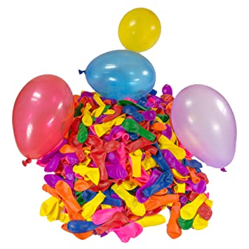 500 x Wasserbomben Wasserbombe Wasserballons Bunt Water Bombs Wasser Bombe Business & Industrie Spielzeug