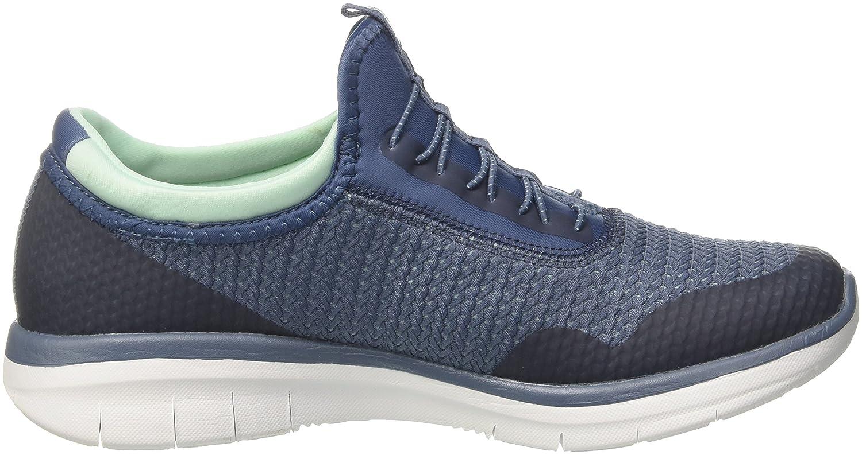 Skechers Damen Synergy 2.0-Mirror Image Sneaker Slip On Sneaker Image Grau (Slate) cc9306
