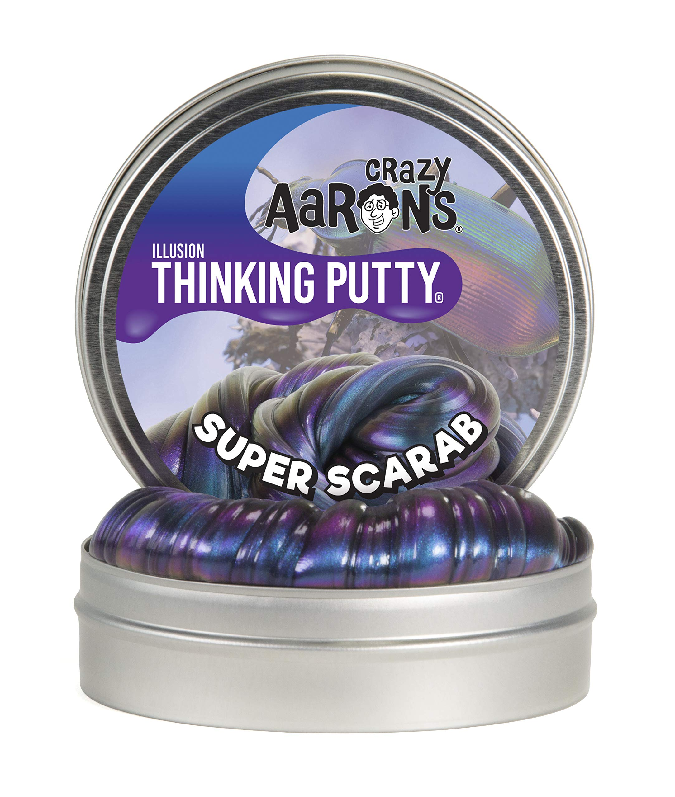 Crazy Aaron's Thinking Putty - Super Illusions - Super Scarab by Crazy Aaron's (Image #1)