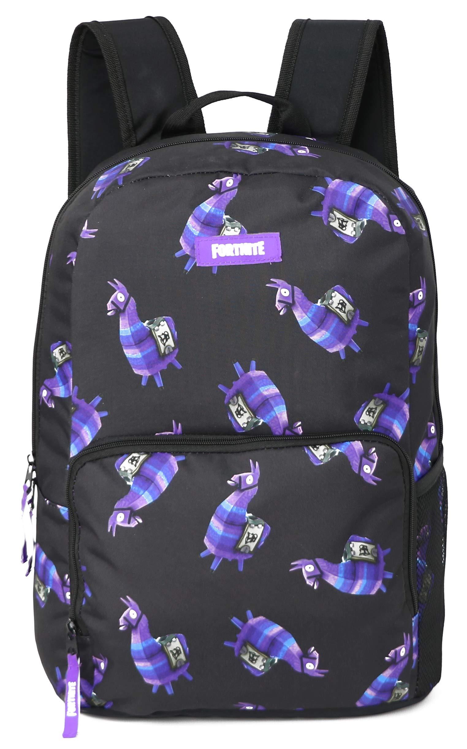 FORTNITE Kids' Little Amplify Backpack, black Combo, Youth Size