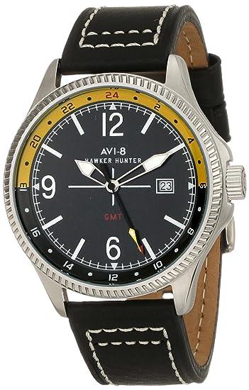 Avi-8 Hawker Hunter AV-4007-02 Reloj de pulsera de los hombres: Amazon.es: Relojes