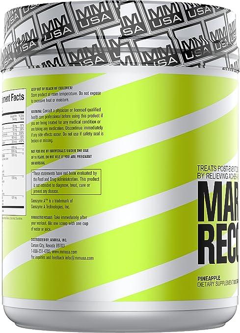 Amazon.com: MMUSA MARATHON RECOVERY BONK INSURANCE FORMULA, 800 gr.: Health & Personal Care