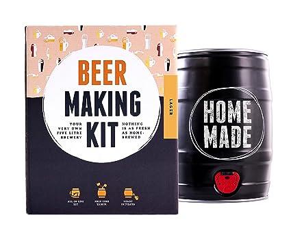 Brewbarrel Kit todo incluído para elaborar Cerveza Lager en Casa - Producto de Alemania - Disfruta