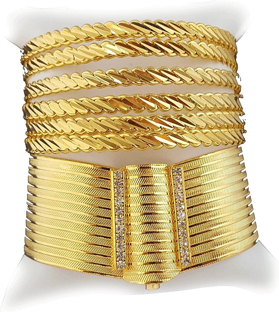 Altin Kaplama Trabzon Bilezik Bilekik 24 Karat Gold GP Armreif Armreifen 3 cm
