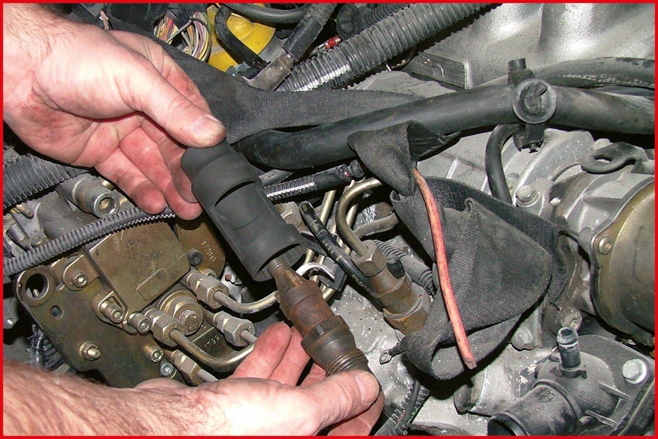 KS Tools 455.0030 Pack Llaves de Vaso para inyectores Diesel Set de 4 Piezas 4pcs tama/ño: 1//2