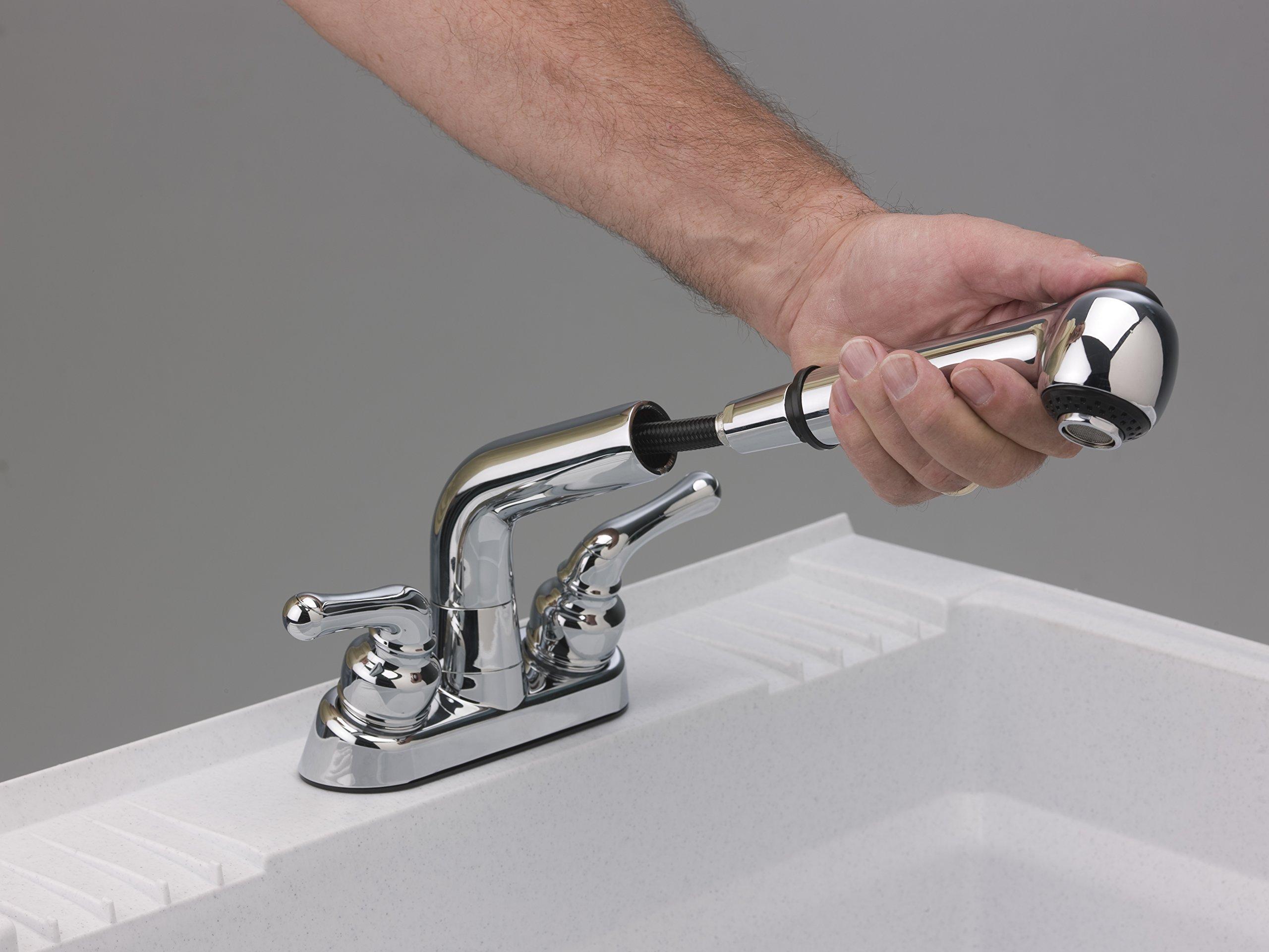 CASHEL 1960-32-02 Heavy Duty Sink - Fully Loaded Sink Kit, Granite by Cashel (Image #6)