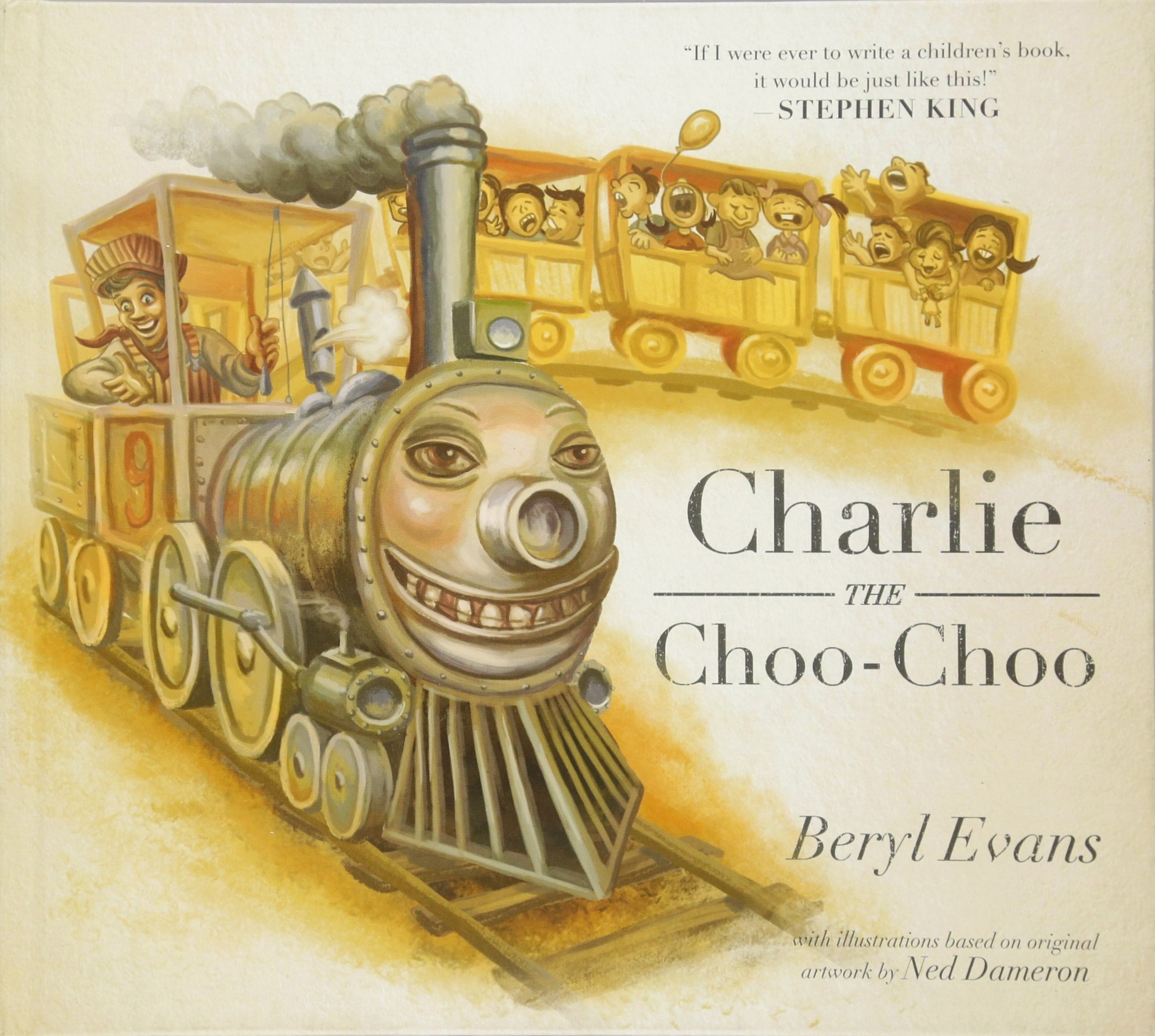 Charlie the Choo-Choo  From the world of The Dark Tower Hardcover –  November 22 b88651a4c109