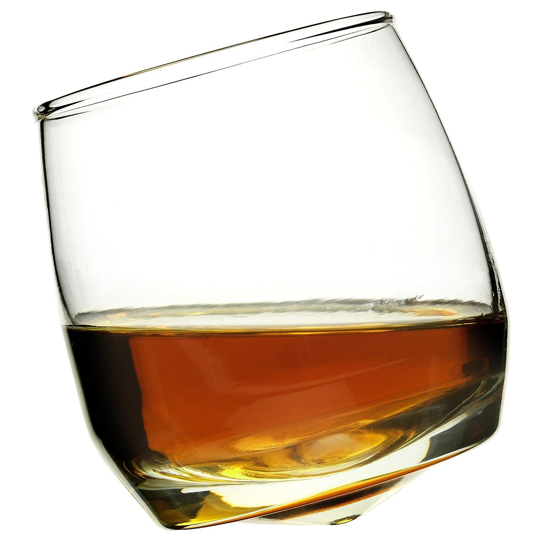 Sagaform Rocking Whiskey Tumbler Glasses, 6 3/4-Ounces, Set of 6 Sagaform Inc 5015280