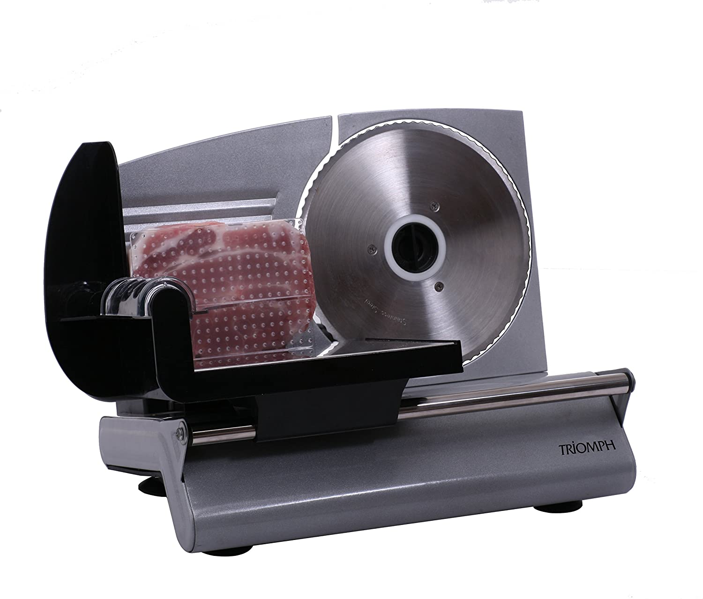 Triomph etf1808affettatrice elettrico 150W Acciaio Inox, 150