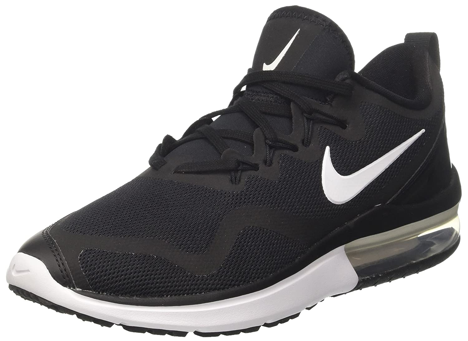 Nike Women's Air Max Fury BlackWhite Black Low Top Cross Trainer Shoe 7M