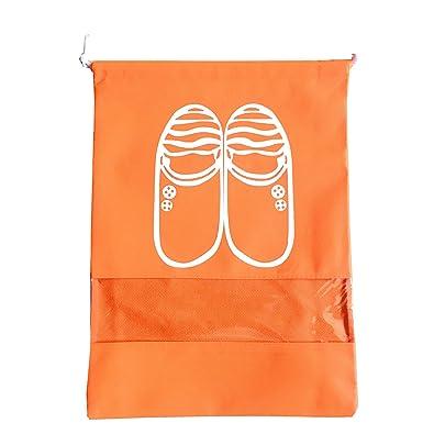 SanLai Bolsa de viaje para zapatos portátil, tela no tejida ...