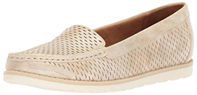 e0dbcf42626 Natural Soul Women s ISLA Loafer Flat Champagne 6 ...