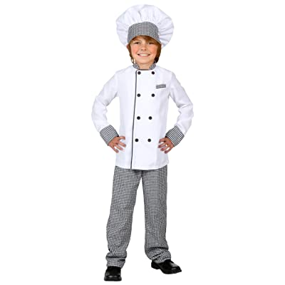 Kids Chef Costume Chef Dress Up Clothes for Kids: Clothing