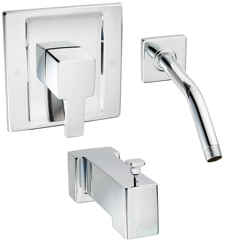 Moen TS2713NH Single Handle Tub and Shower Trim Kit, Chrome
