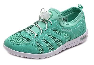 52dbd29f28c82 Sandic Damen Sportschuhe Mint Schuhe Damenschuhe Laufschuhe Sportschuhe  Sneaker 36 37 38 39 40 41 (