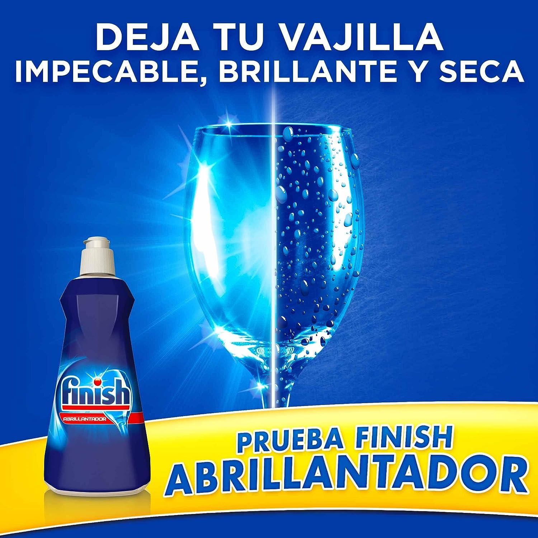 Finish Lavavajillas Abrillantador Regular 800 Ml Amazon Es  ~ El Lavavajillas Deja Los Vasos Blanquecinos