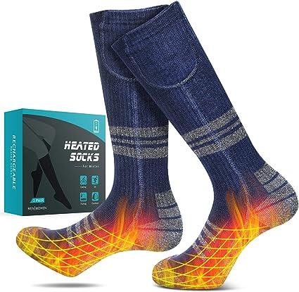 Thermal Heated Socks Winter Foot Warmer Electric Warming Sock Sport Ski Socks AU