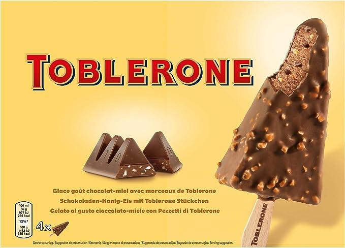 Toblerone Bombón Helado, 4 Unidades 322 g