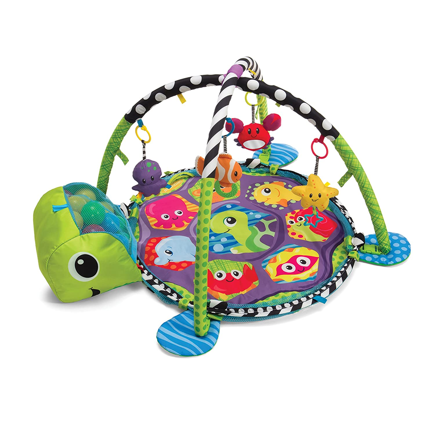 Amazon Infantino Grow with me Activity Gym and Ball Pit