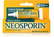 Neosporin Original Antibiotic Ointment, 24-Hour Infection Prevention for Minor Wound, .5 oz