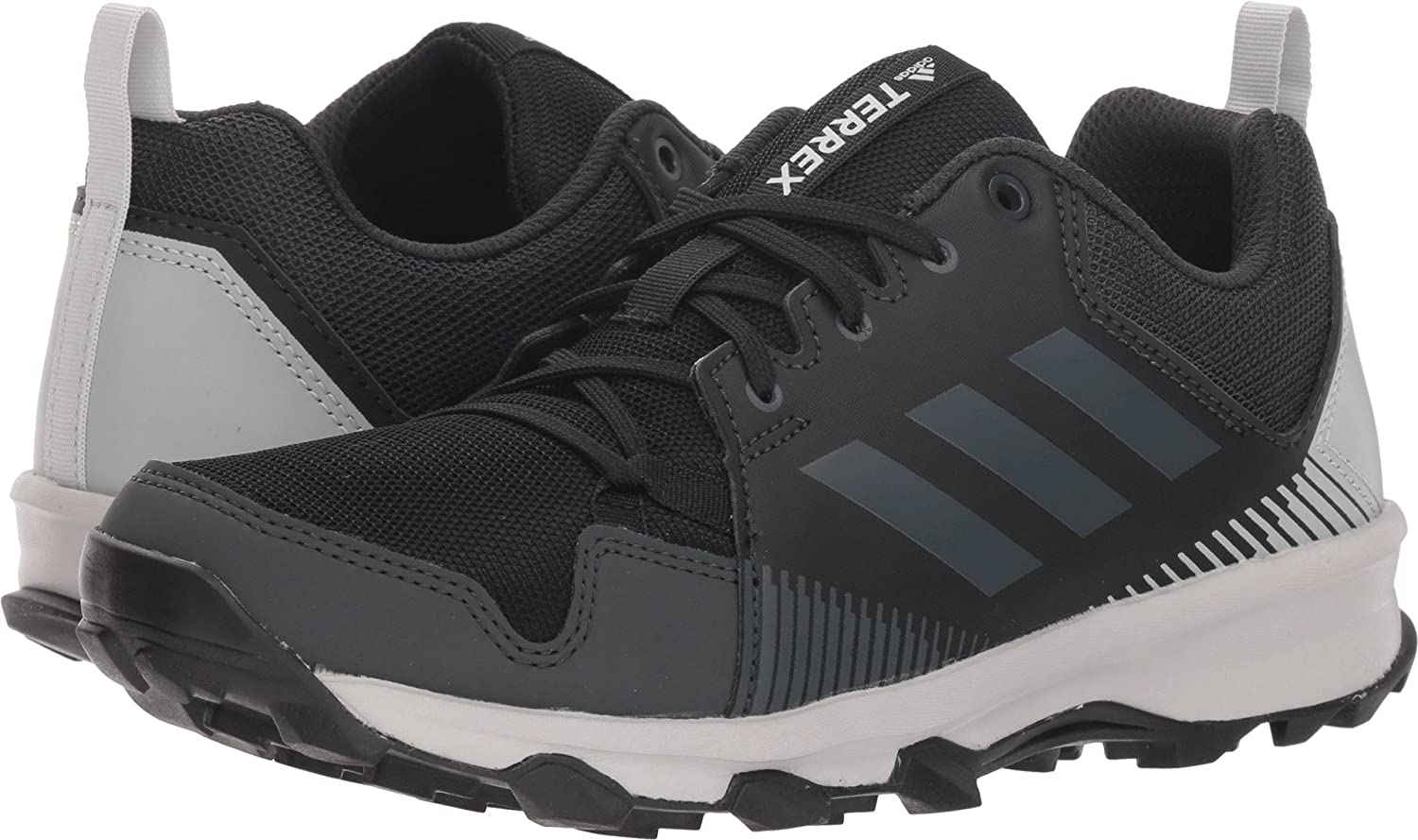 adidas outdoor Women's Terrex Tracerocker W Trail Running Shoe B078WGH9X8 9 B(M) US|Black/Carbon/Ash Green