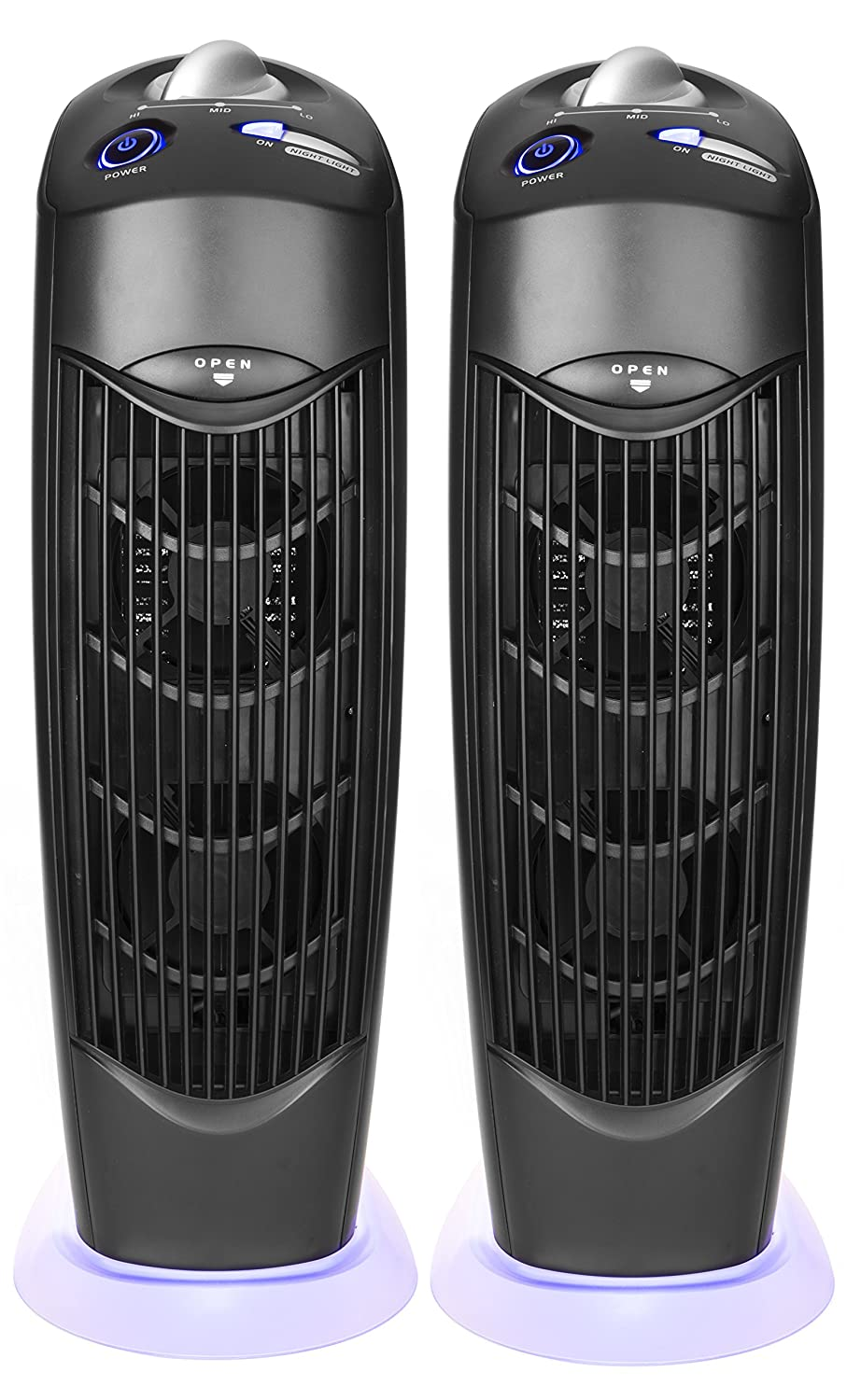 Atlas Two Electrostatic Ionic UV Carbon Filter Air Purifiers low energy use no filter ATL99022