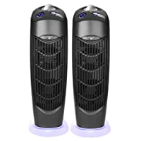 Atlas Two Electrostatic Ionic UV Carbon Filter Air Purifiers low energy use no filter