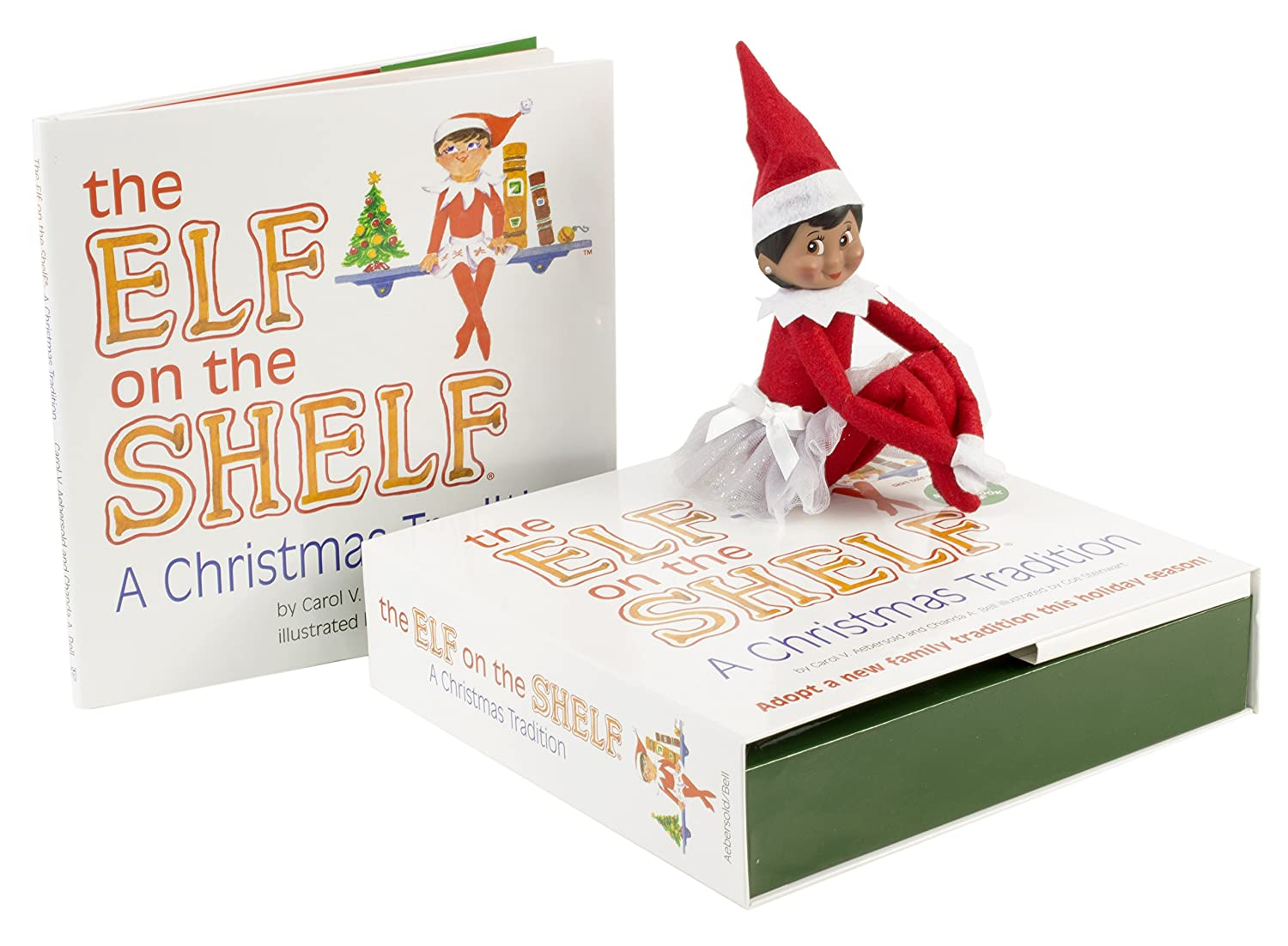 Amazon.com: The Elf on the Shelf: A Christmas Tradition Brown Eyed ...