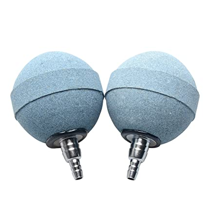 UnicLife Piedra de aire mas burbujas difusor de bolas para pecera acuario bomba de hidroponia,