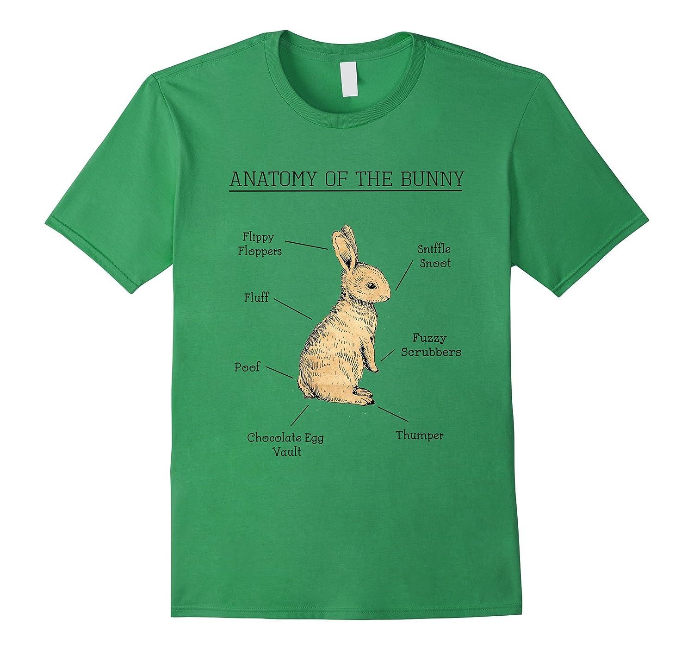 Anatomy Of The Bunny Cute Animal Love Rabbit Shirt Funny-ANZ - Anztshirt