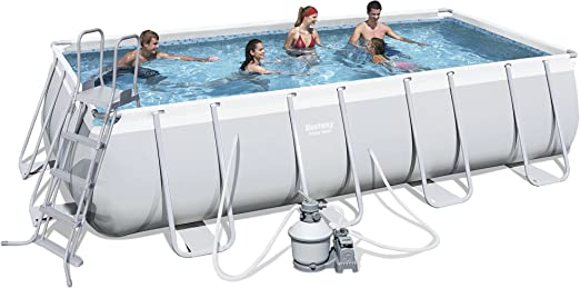 Bestway Power Steel 56390 - Piscina (Piscina con Anillo Hinchable ...