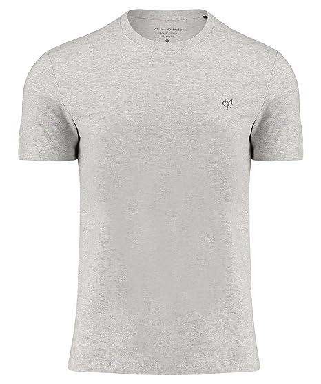 a8be096883 Marc O'Polo Herren Langarmshirt B21222051068, Grau (Twentyfour Grey 949),  Small