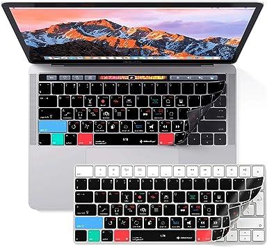 Apple Garageband - Funda para teclado para MacBook Pro con barra táctil de 13 y 15 pulgadas, para editar más rápido con todos los accesorios.: Amazon.es: Electrónica
