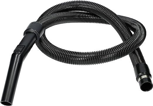 WESSPER® Manguera de la aspiradora Clatronic BS 1248 (ø32mm, 200cm, negro): Amazon.es: Hogar