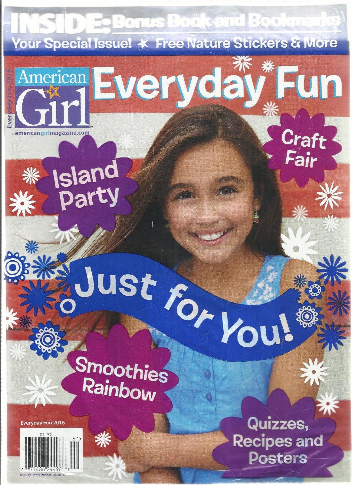 AMERICAN GIRL EVERYDAY FUN, 2016 ISLAND PARTY * CRAFT FAIR * SMOOTHIES RAINBOW
