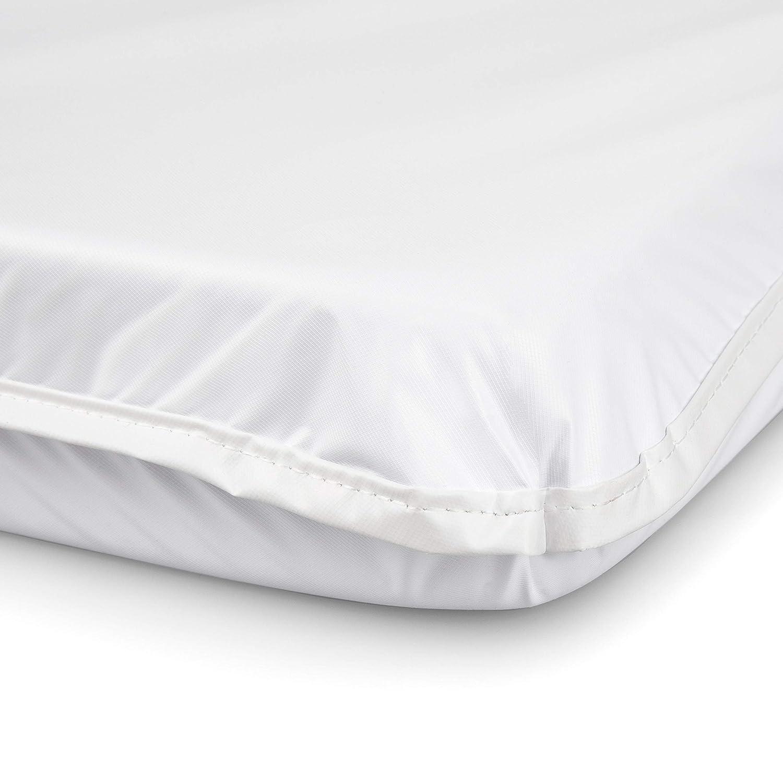 13x29x2 white Babydoll Bedding Bassinet Mattress Size