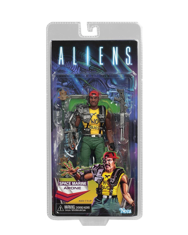 7 Scale Action Figure NECA Aliens Series 13 Apone