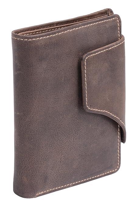 Cartera para señores Monedero para señoras Vintage Style (incluyendo LEAS-regalo caja) LEAS