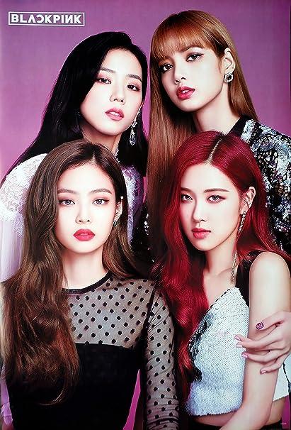 Amazon Com Maxis Black Pink Blackpink Korean Girl Group Kpop Wall