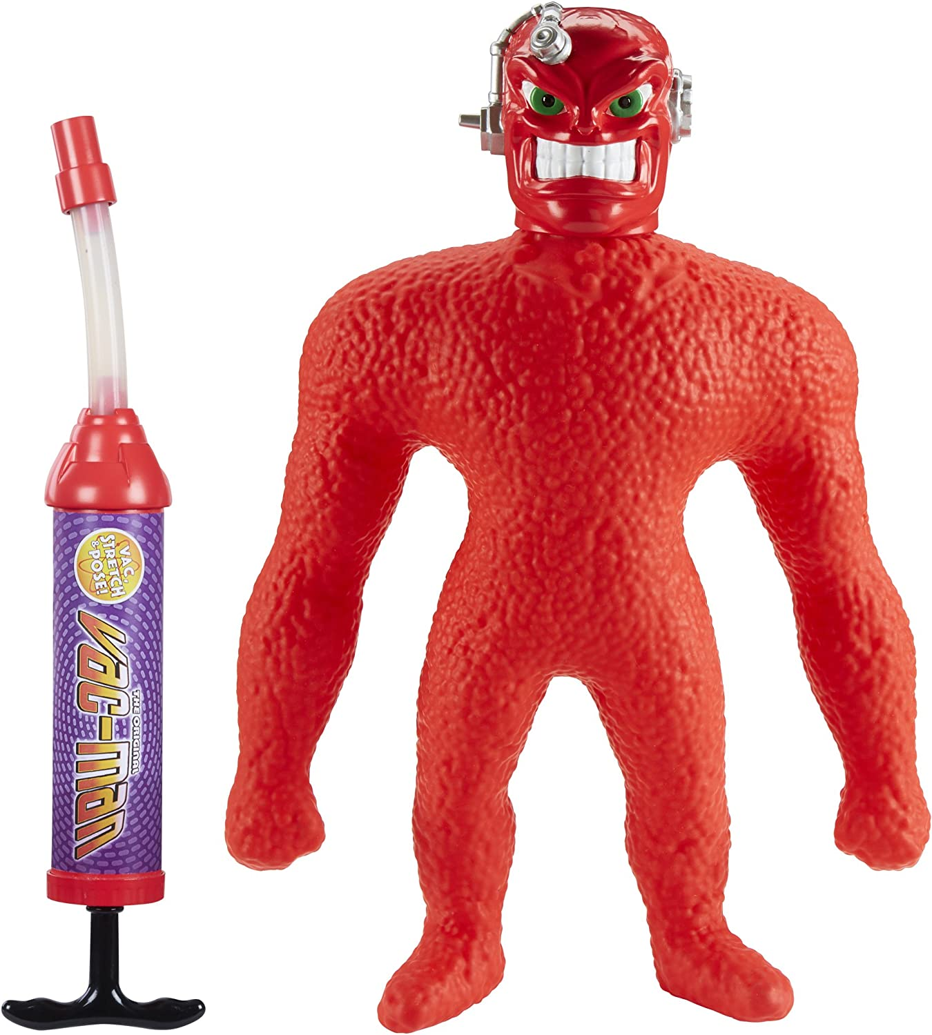 Amazon Com Stretch Vac Man Figure Toys Games
