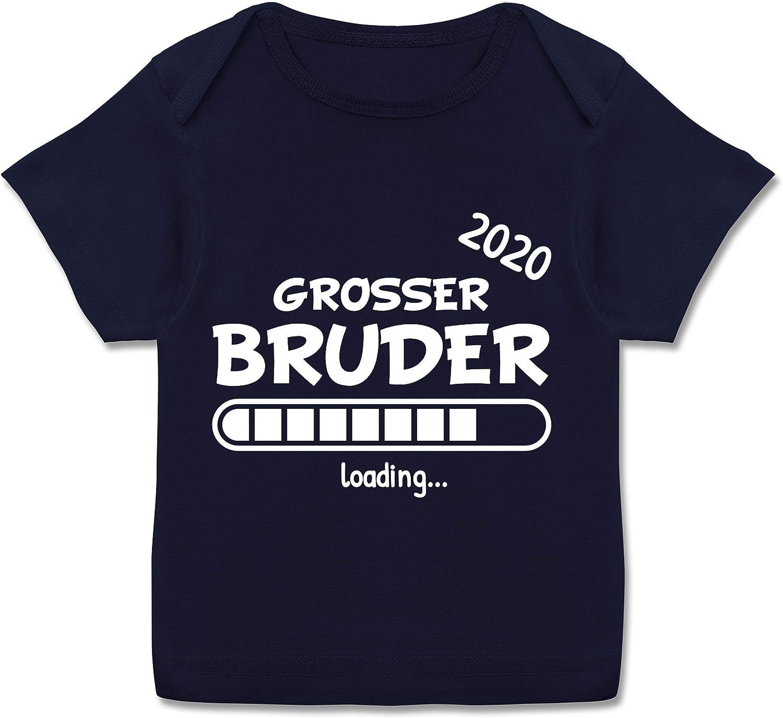 Gro/ßer Bruder 2019 Loading Geschwisterliebe Baby Baby T-Shirt Kurzarm