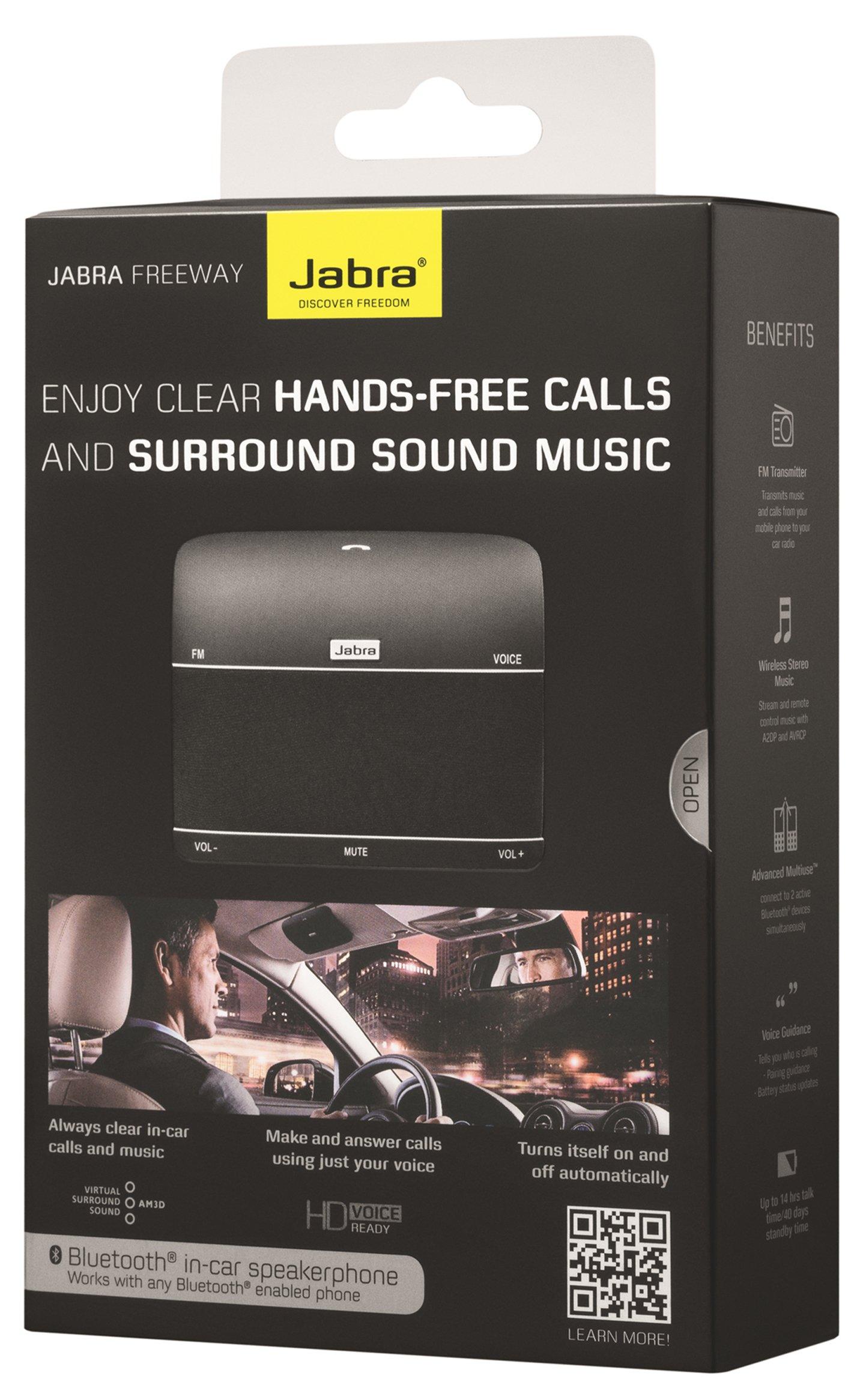 Jabra Freeway Bluetooth in-Car Speakerphone (U.S. Retail Packaging) by Jabra (Image #6)