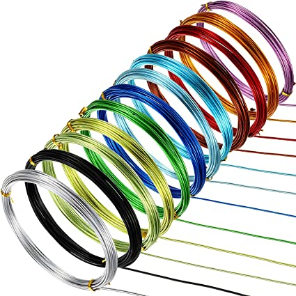 coronas, ETC Paquete de 5 anillos de alambre de 12 pulgadas para festivales o manualidades navide/ñas