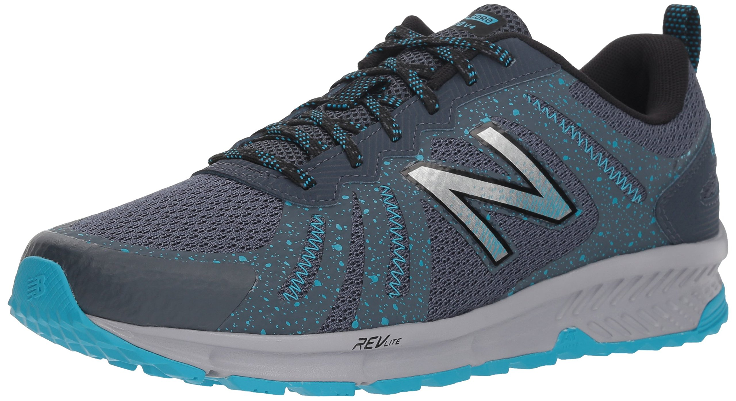 New Balance Women's 590v4 FuelCore Trail Running Shoe Dark Grey 6 D US by New Balance (Image #1)