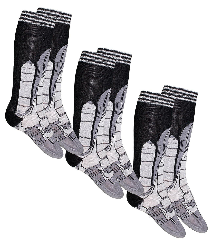 EveryKid Ewers 1er, 2er oder 3er Pack Jungenkniestrü mpfe Kniestrü mpfe Strü mpfe Markensocken Socken mit Spaceshuttle Motiv fü r Kinder (EW-601018-W17-JU3) inkl Fashionguide