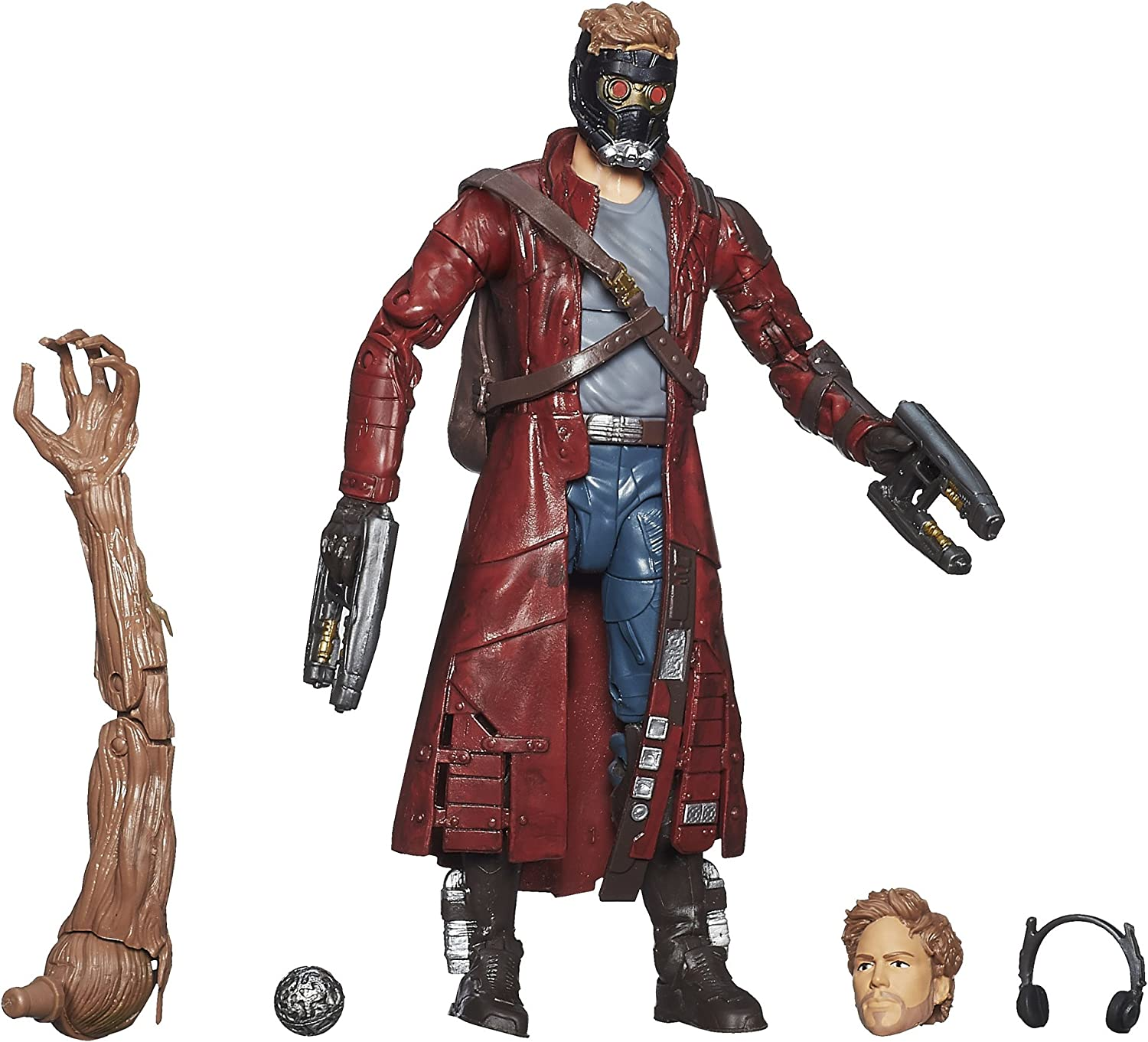 Marvel Guardianes de la Galaxia - Figura Star-Lord: Amazon.es ...