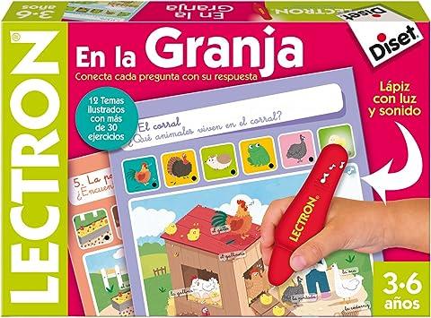 Oferta amazon: Diset- Lectron Lápiz Granja - Juego educativo a partir de 3 años