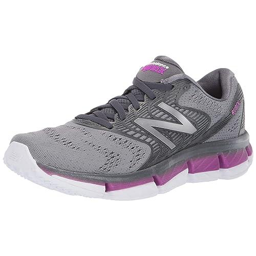 New Balance Rubix Zapatillas de Running para Mujer Gris Lead Voltage Violet Steel GB 40 EU