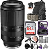 Tamron 70-180mm f/2.8 Di III VXD Lens for Sony E with Altura Photo Advanced Accessory and Travel Bundle